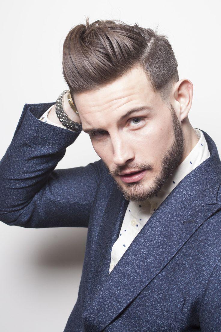 Mens haircut pompadour  images about estilos d cabello barbas y bigotes masculino