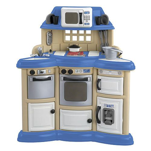 """Homestyle Play Kitchen - American Plastic Toy - Toys """"R"""" Us"""