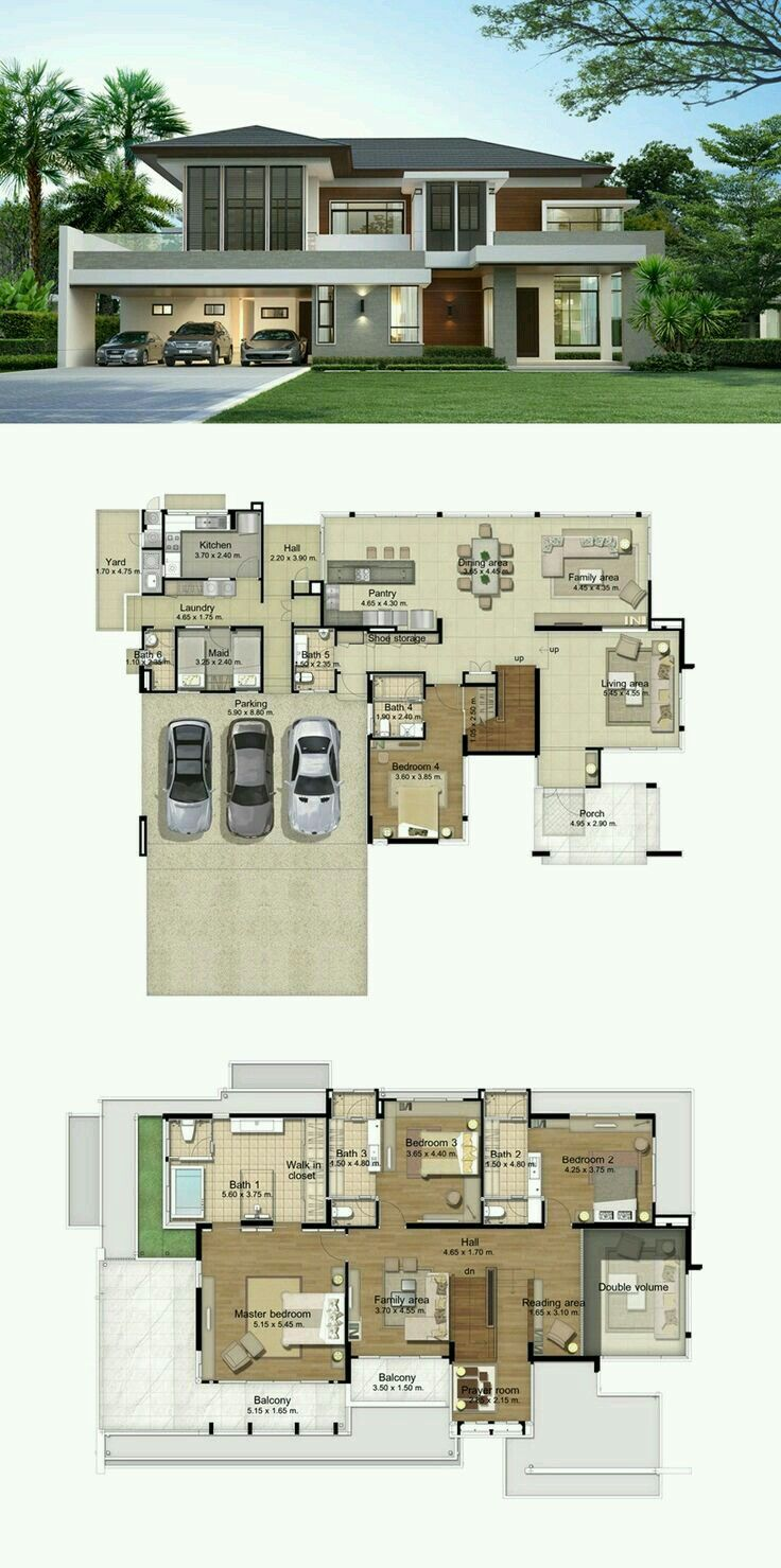Big Plan House Design Modern House