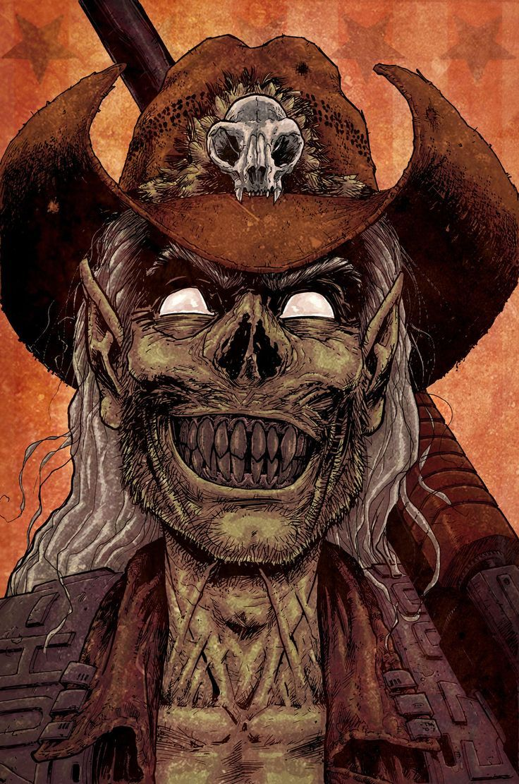 Image result for zombie cowboy