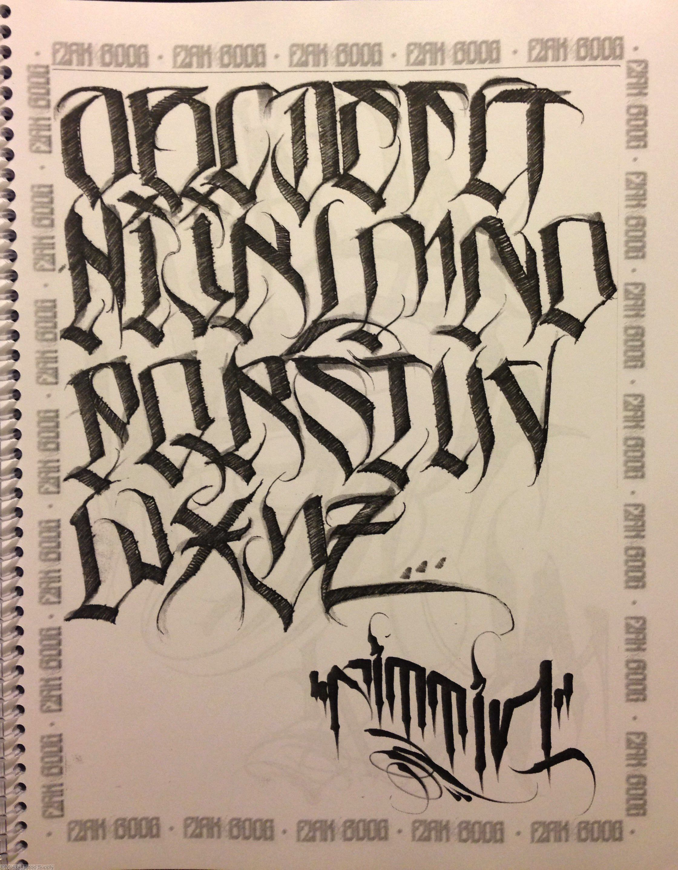 More Lettering Tattoo Lettering Tattoo Lettering Fonts Chicano Lettering