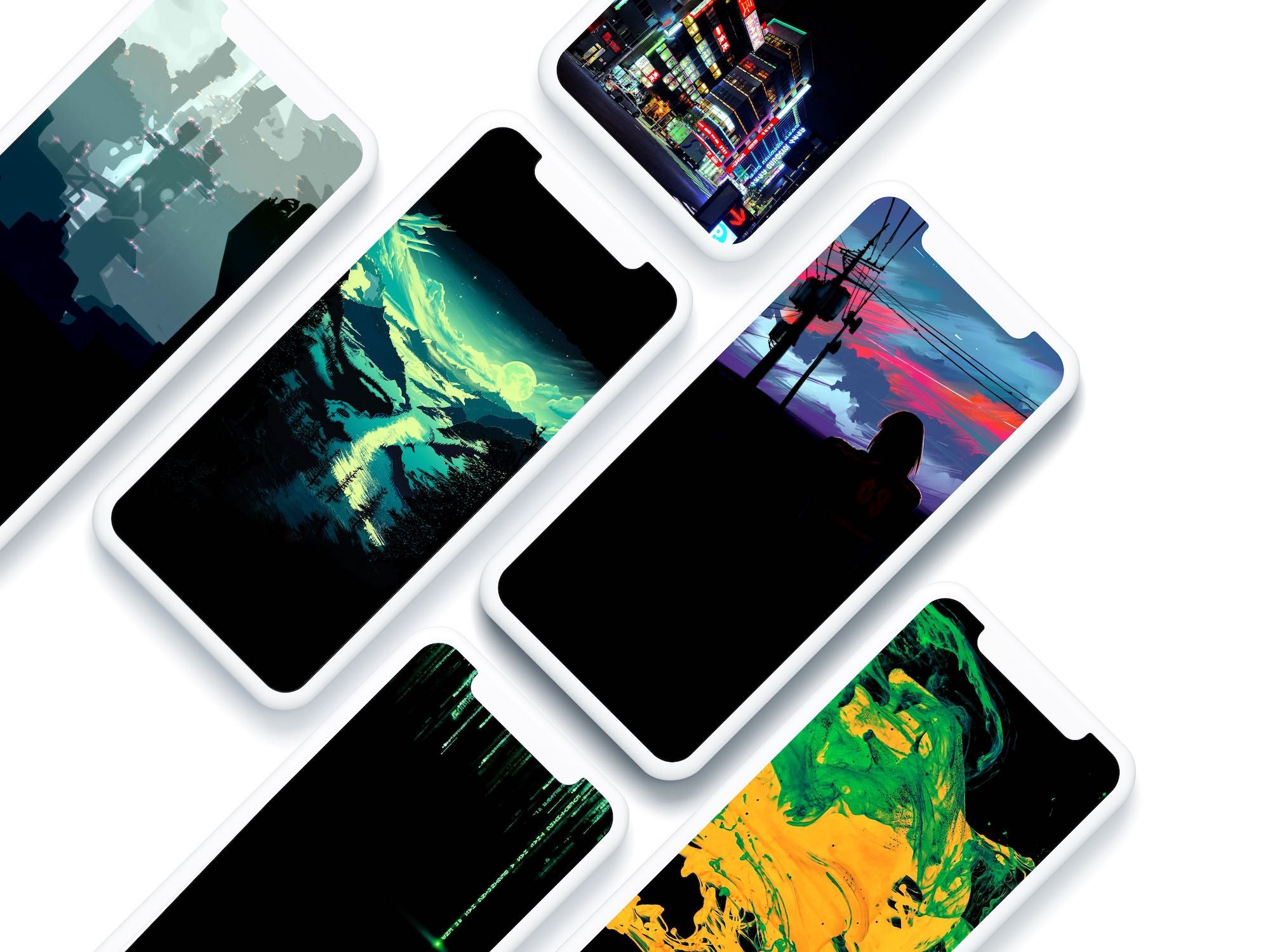 Oled Optimized Iphone 11 Pro Wallpapers In 2020 With Images