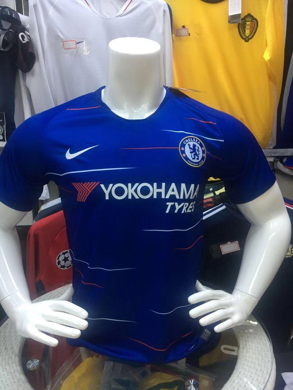127870205dae14 Chelsea home fans jersey club 1819 whatsapp:+8613517692618 football jersey  soccer jersey fans jersey