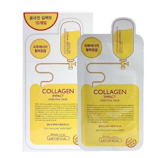 Mediheal Collagen Impact Essential Mask 10 Sheets Korean Skin Care Cosmetics