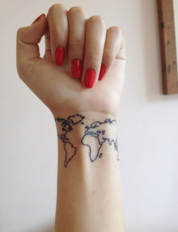 50 coole handgelenk tattoo vorlagen tattoo tatoos and hennas 50 coole handgelenk tattoo vorlagen worldmapworld gumiabroncs Choice Image
