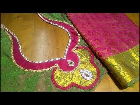 16217ebdd9ee0 Silk saree model blouse youtube also in pinterest rh hu