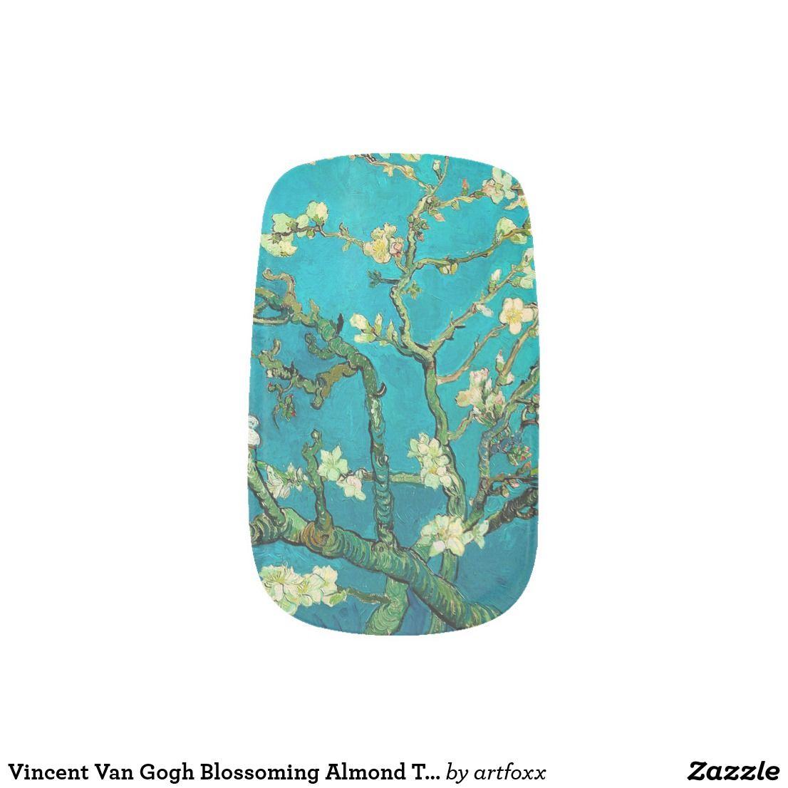 Vincent Van Gogh Blossoming Almond Tree Floral Art Minx Nail Wraps