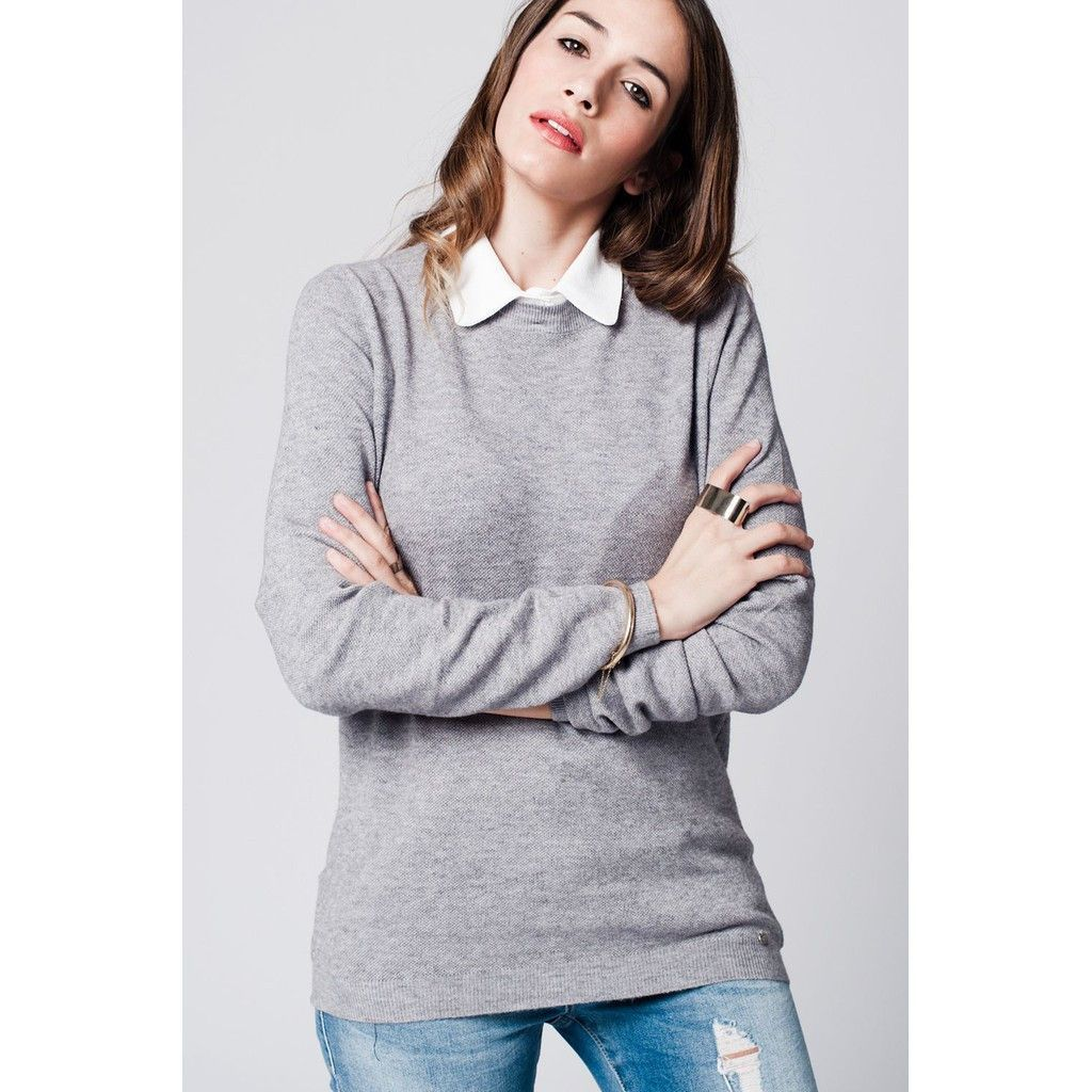 #CoolHatcher #Curated Grey jersey with ... http://theartofliving.earth/products/grey-jersey-with-contrast-collar?utm_campaign=social_autopilot&utm_source=pin&utm_medium=pin #SocialGood