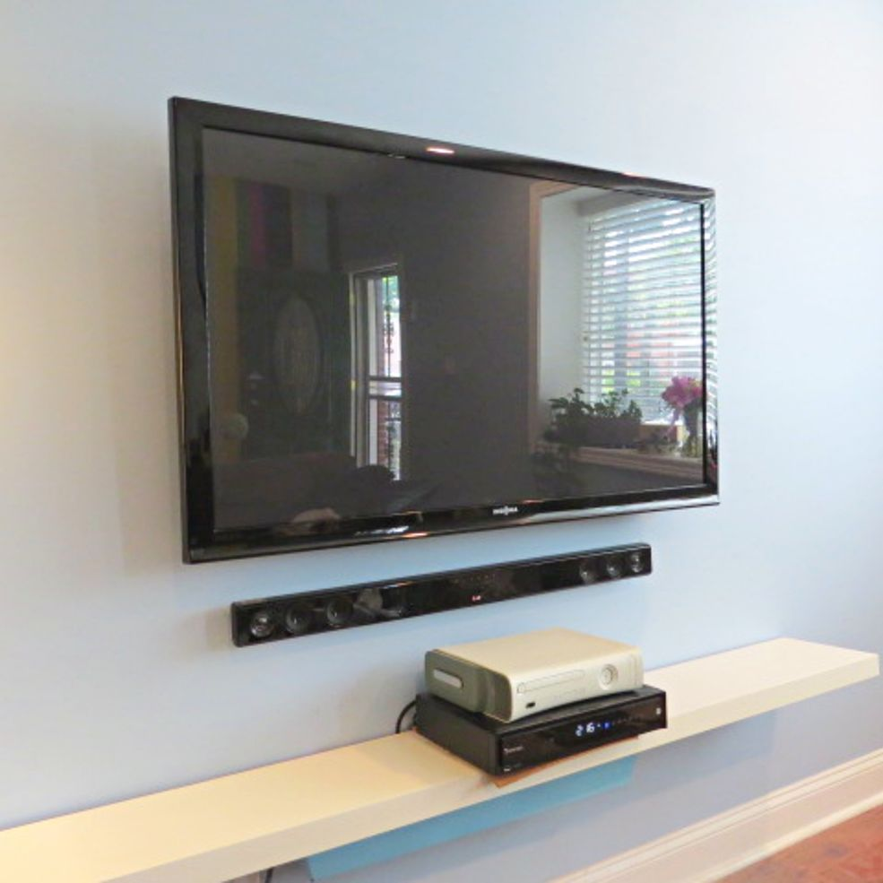 Easy Peasy: Hide Your TV Cables and Wires | Tv cable, Cable and ...