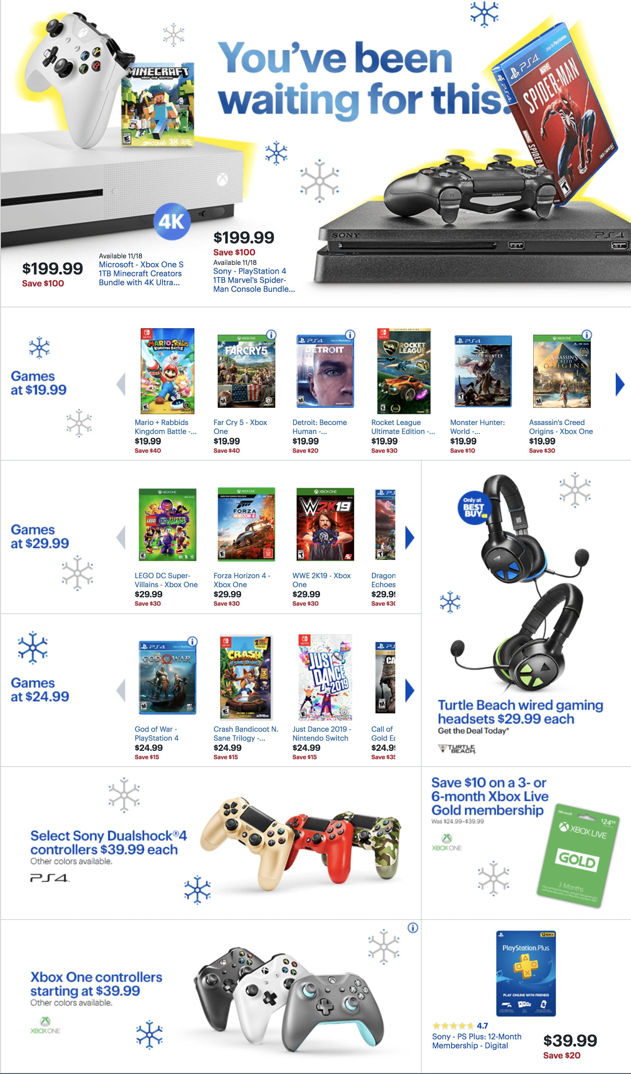 Best Buy Black Friday Ad For 2018 Cool Things To Buy Black Friday Black Friday Ads
