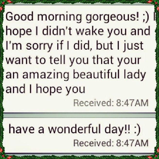 Sweet Good Morning Texts For Her Cute Instagram Quotes Good