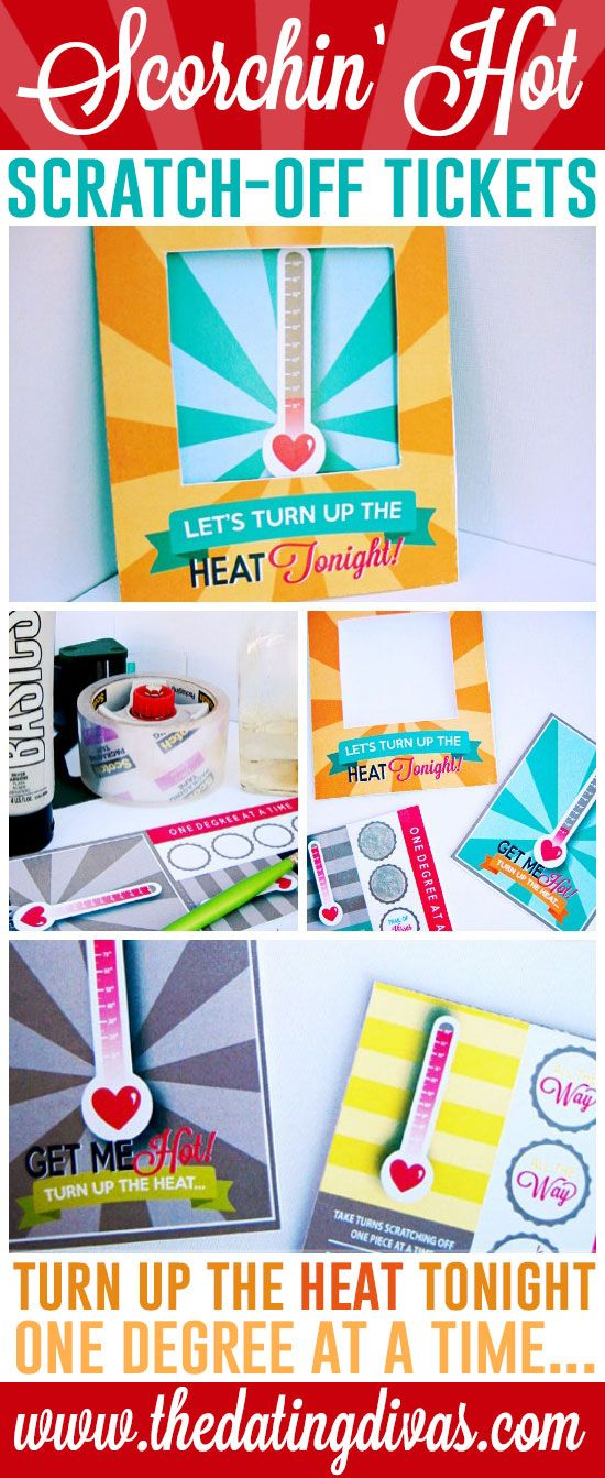 Scorchin' Hot Intimate Scratch-Off Tickets | Intimacy Tips & Ideas