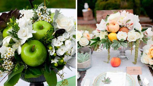 Centros de mesa con frutas buscar con google wedding - Frutas artificiales para decoracion ...