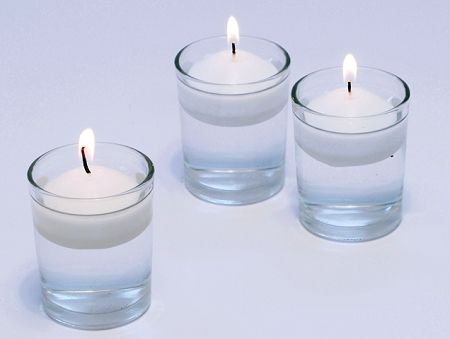 Bulk Floating Candles And Glass Holders Color Water W Food