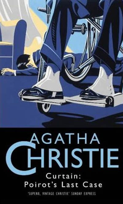 Curtain Agatha Christie I Have To Confess That I Was So Upset During This Book That I Cried It Was A Very Cl Agatha Christie Books Agatha Christie Poirot