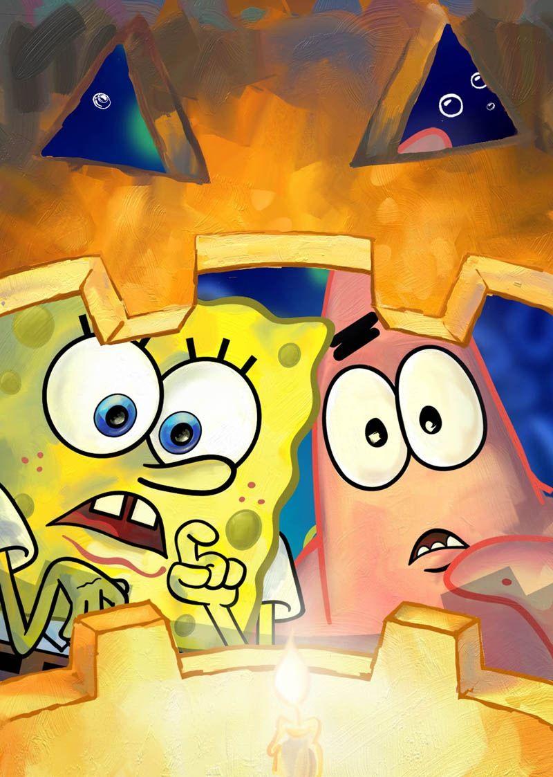 spongebob jack o lantern happy october and holloween spongebob