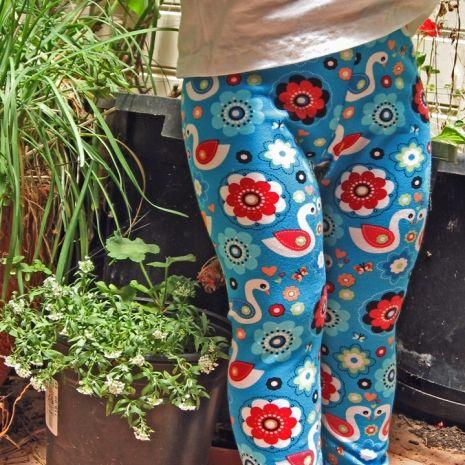 Children's Leggings pattern by Felicity Patterns.
