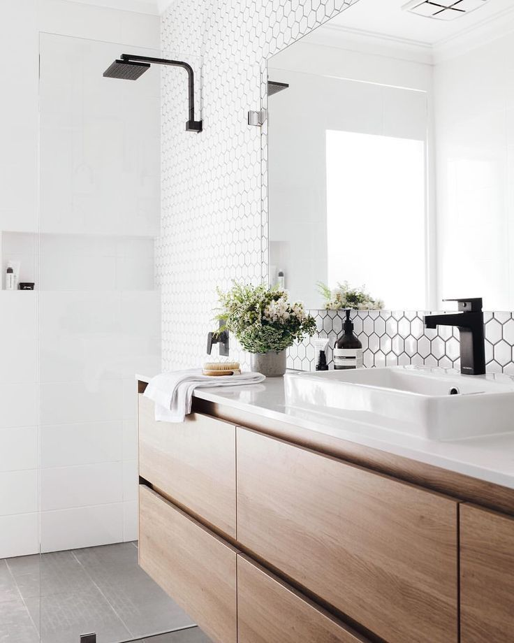 Bathroom Design Trends 2019 - #bathroom #Design #Trends #whitebathroompaint