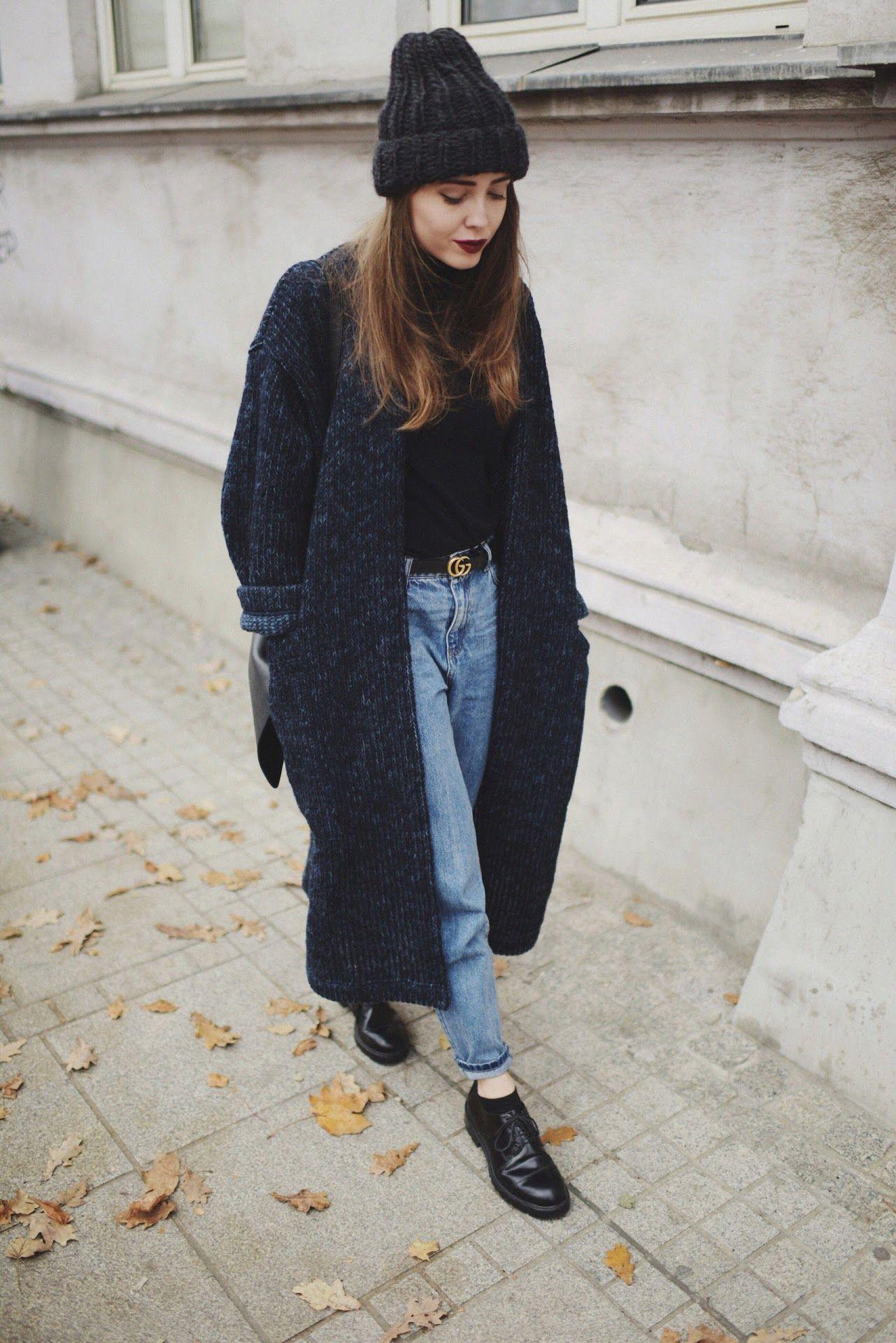 ceebc6ca68d Street Style   Długi Sweter (Jestem Kasia)