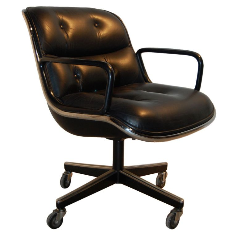 Charles Pollock For Knoll ; Desk Chairs