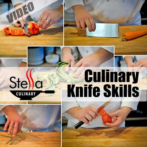 Culinary Knife Skills Video Index | Foods Class | Pinterest ...