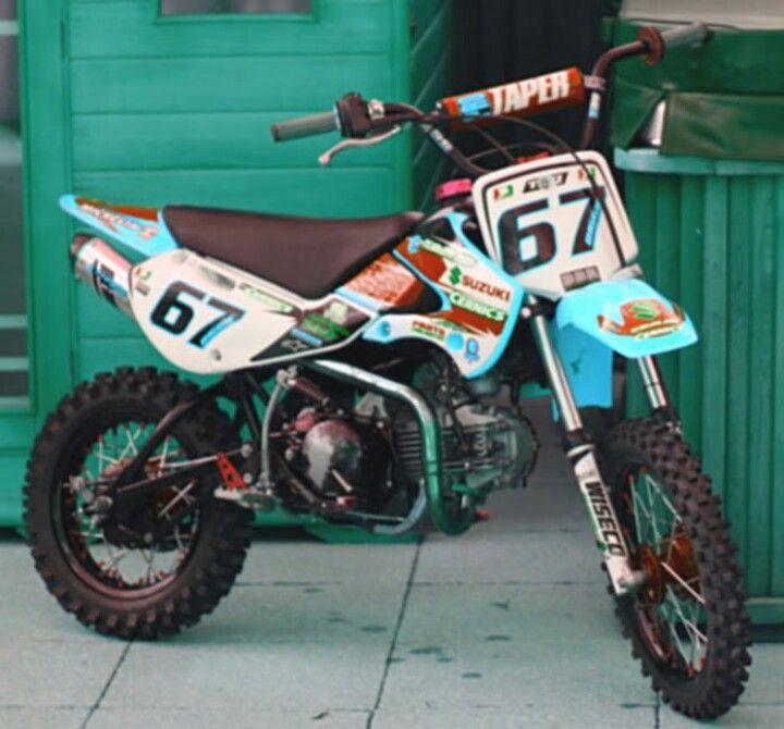 Klx110 Stockmod Dream Bike I Love It Pit Bike 110 Pit Bike Dirtbikes