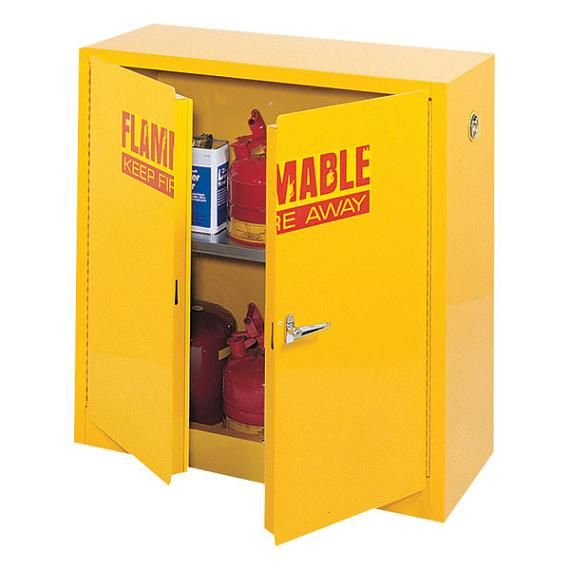 Flammable Storage Cabinets To Lock Up Dangerous Liquids In Your Science  Classroom Or Even Home Garage