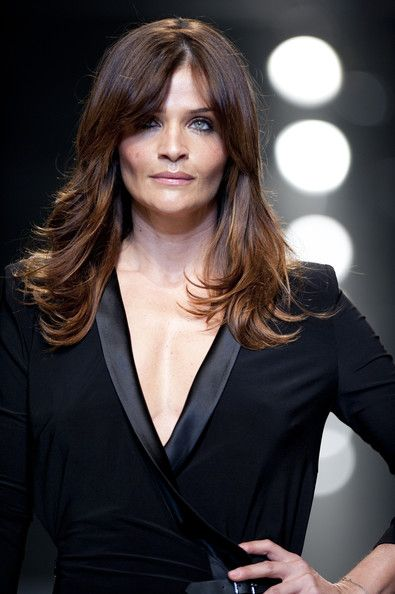 Style Icon Helena Christensen On Pinterest Helena