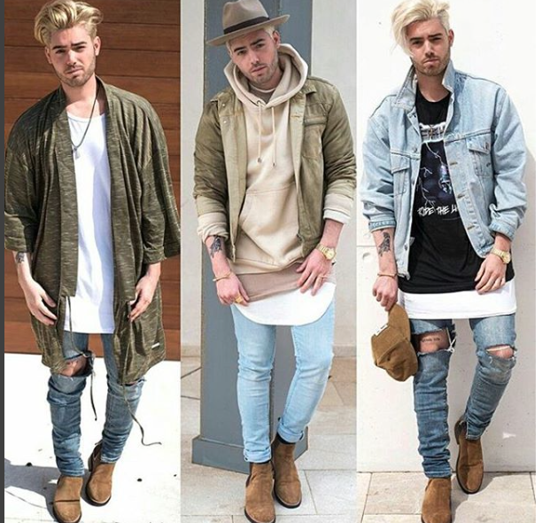 Men outfits layers #ref
