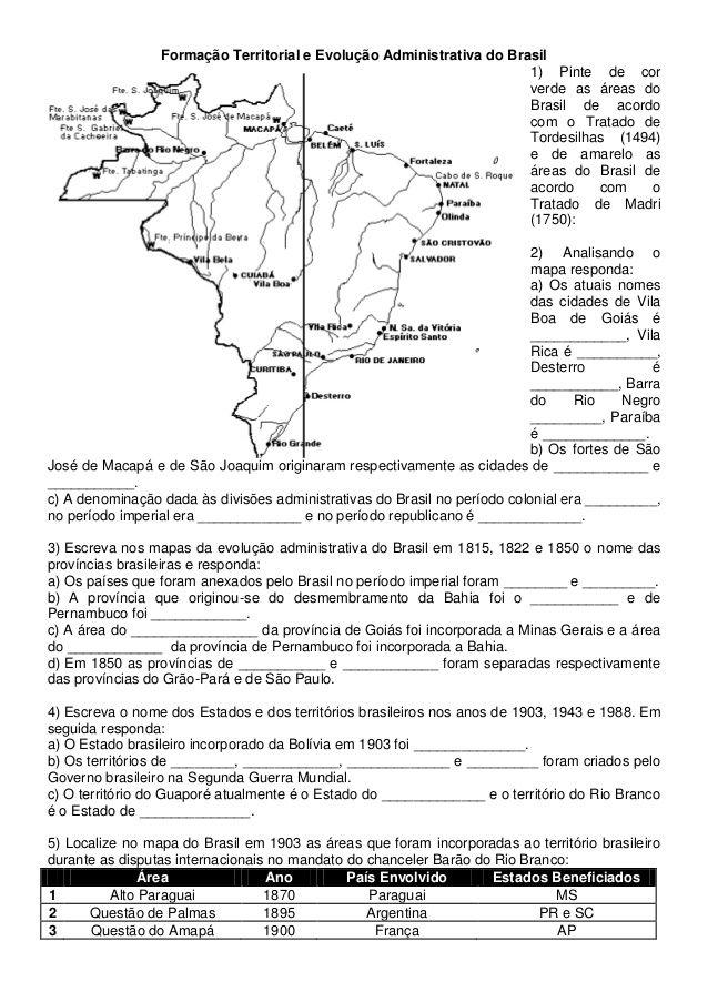 Atividades Historia Do Brasil 3 4 5 Anos Com Imagens