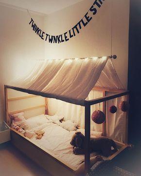 instagram analytics kinderzimmer pinterest hausbett bett und ikea. Black Bedroom Furniture Sets. Home Design Ideas