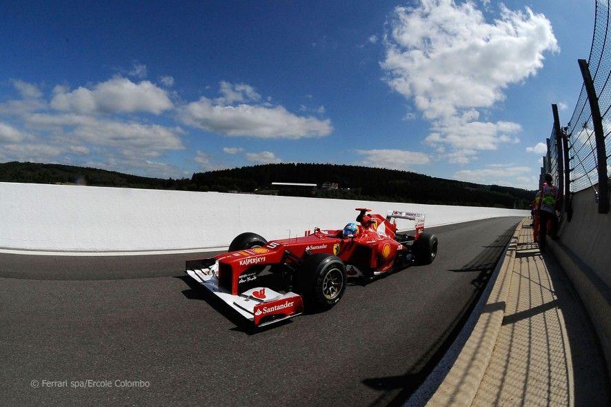 Fernando Alonso, Ferrari, SpaFrancorchamps, 2012 Alonso