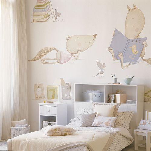 Papeles de pared infantiles beautiful murales de papel - Paredes infantiles originales ...