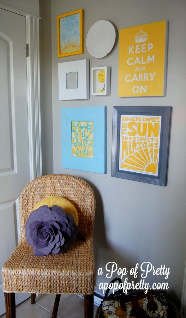 Here comes the sun Our Sunshine Inspired Front