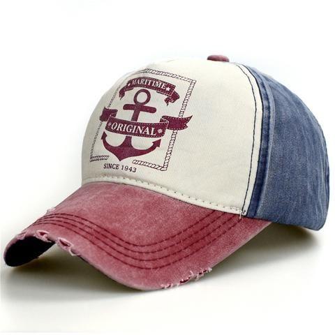 Hommes Femmes Vintage Star Snapback Baseball Ball Cap Outdoor Sports Chapeaux adjutable