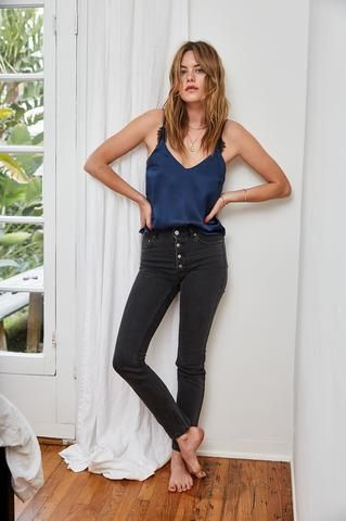Jeans Bing Capsule Anine CharcoalItaly JeansDenim Frida m80wvNn