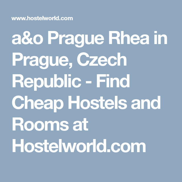 a&o hostel rom