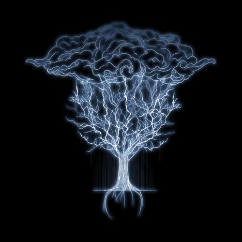 tree of lightings is a Men's T Shirt designed by sebasebi to illustrate your life and is available at Design By Humans