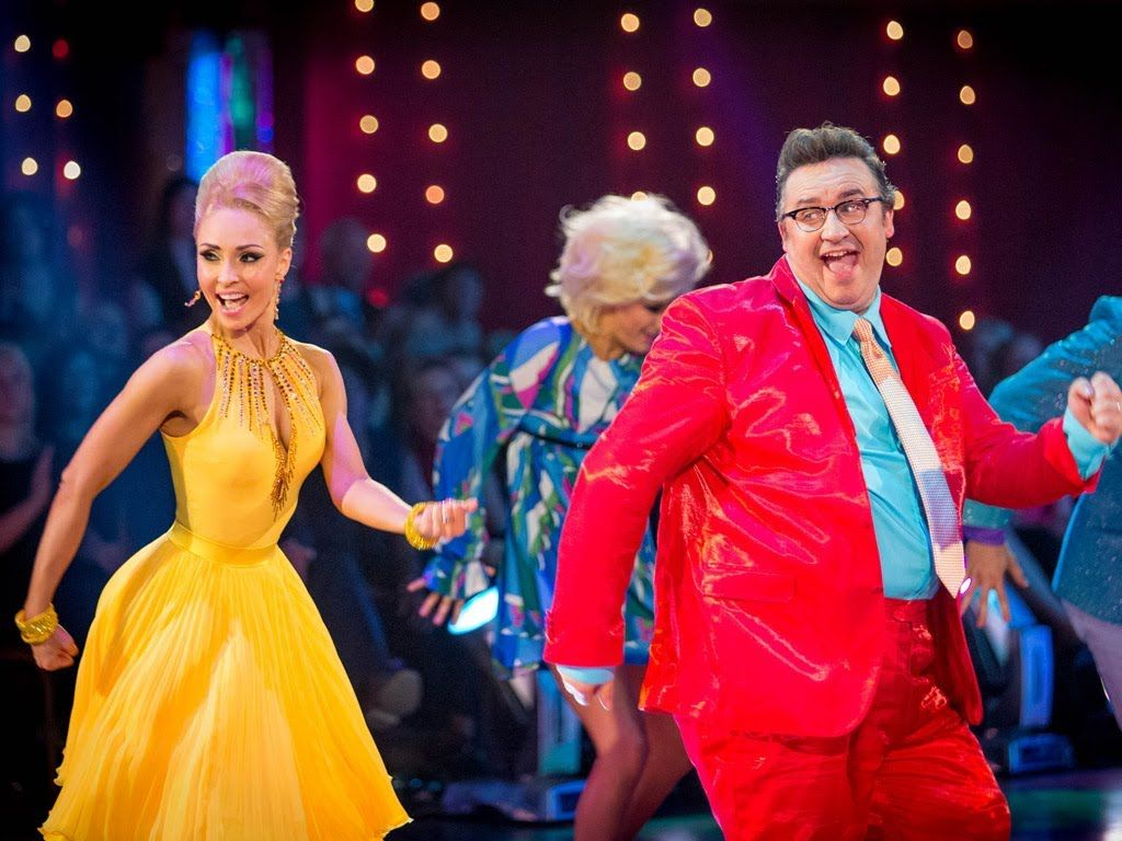 Mark Benton & Iveta dance the Jive to 'You Can't Stop The Beat' - Strict...