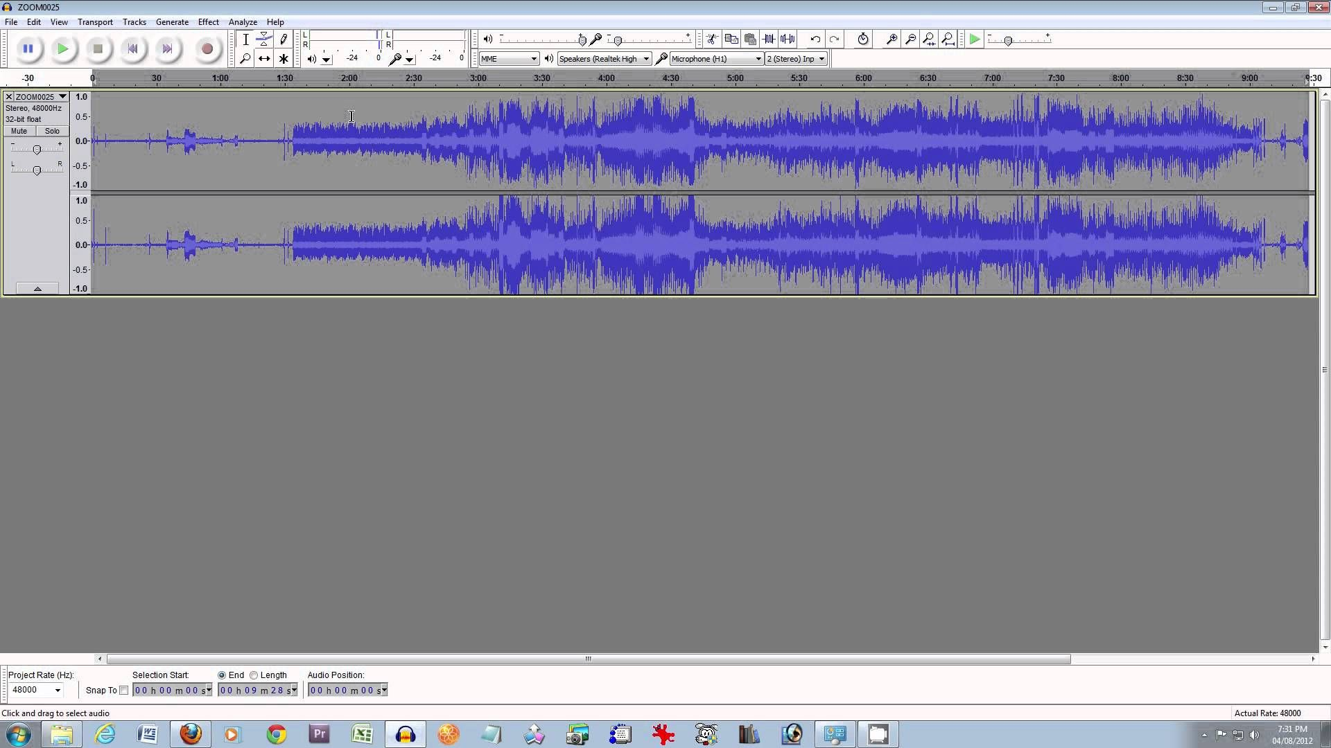 How to Master Recorded Audio using free software tools