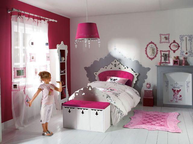 Superb Les Chambre De Fille #9: Idées De Décoration Pour Une Chambre De Fille