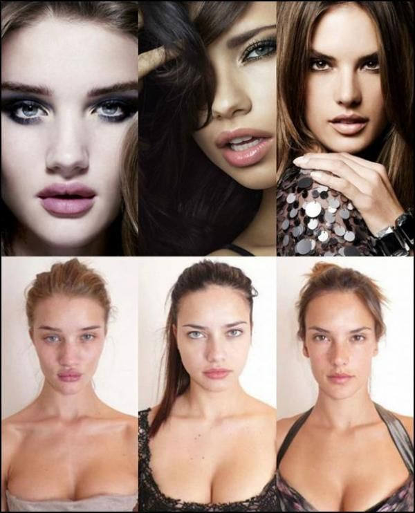 Gallery: Supermodels Without Makeup or Photoshop | Celebs