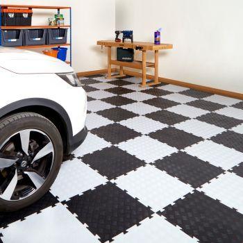 Eva interlocking soft foam mat flooring tiles kids play garage gym