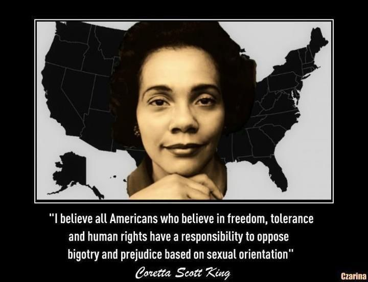 Coretta Scott King Quote Michelle And Coretta Martin Luther King Beauteous Coretta Scott King Quotes