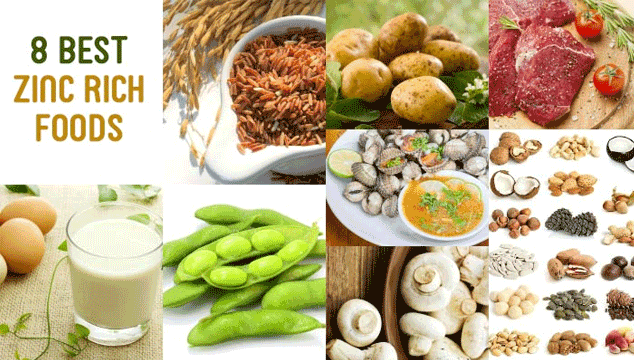 zincenriched foods for fertility Zinc rich foods