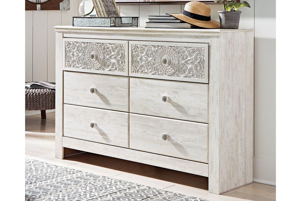 Paxberry Dresser Ashley Furniture Homestore White Wash Dresser White Wash Restful Bedrooms [ 840 x 1260 Pixel ]