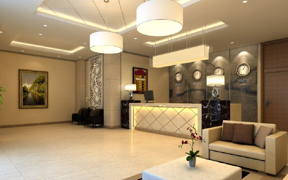 Chinese-small-hotel-lobby-design.jpg (1091×680) | Ad Mod - Fables ...