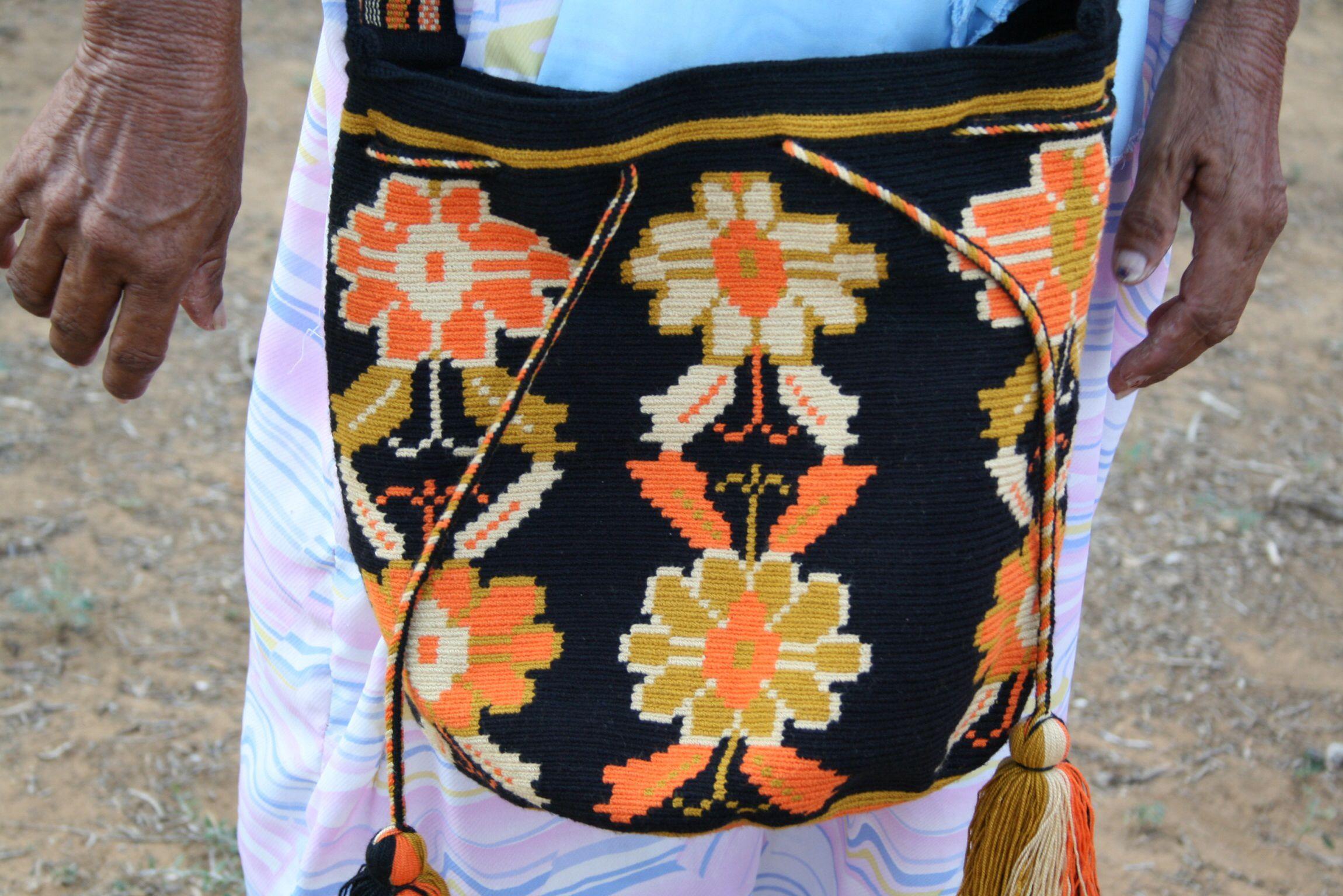 Wayuu Mochila bag handmade