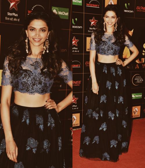 Deepika Padukone at the Star Guild Awards