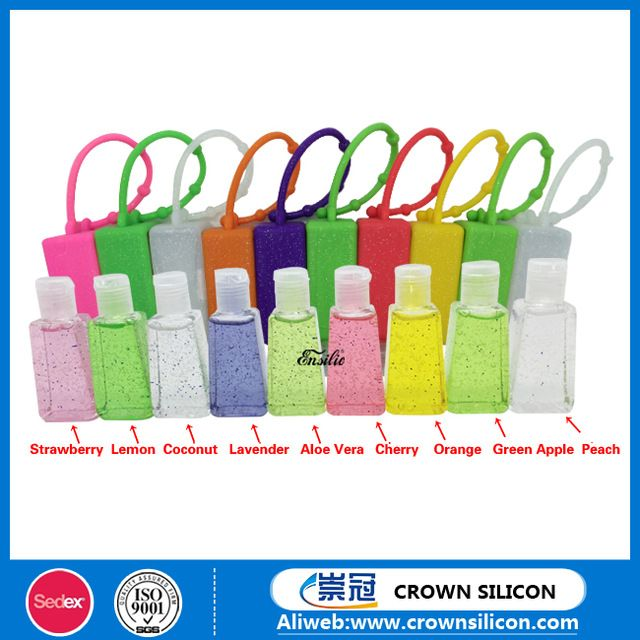 Source 30ml Scent Colorful Hand Sanitizer Silicone Hand Sanitizer